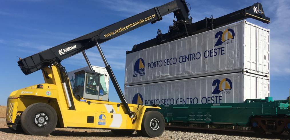 Faturamento do Porto Seco de Anápolis cresce 53 por cento de janeiro a maio